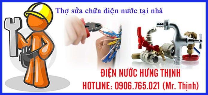 Sửa điện nước ở quận Tân Bình