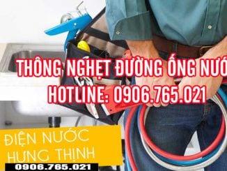 Dịch vụ thông cống nghẹt Biên Hòa