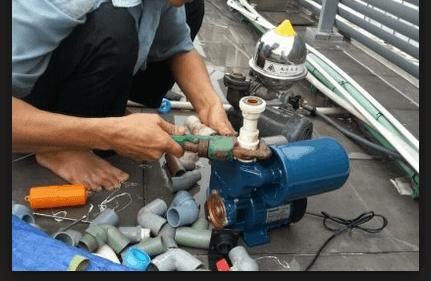 Thợ sửa máy bơm nước ở quận Thủ Đức
