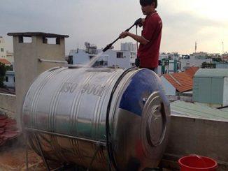 vệ sinh bồn nước
