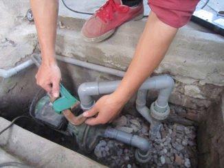 Sửa chữa máy bơm nước-thợ sửa điện nước tại quận 12