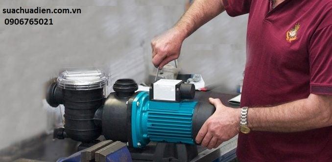 Sửa máy bơm nước tại nhà tphcm