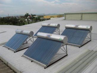 Lắp đặt máy nước nóng năng lượng mặt trời hcm