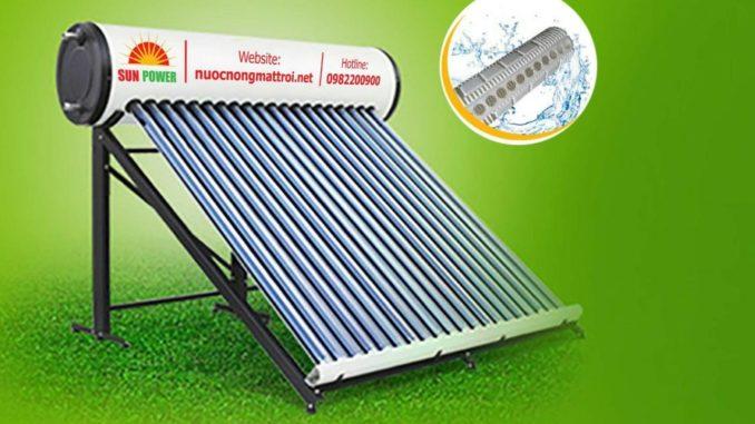 Máy nước nóng năng lượng mặt trời Sunpower lõi inox 304