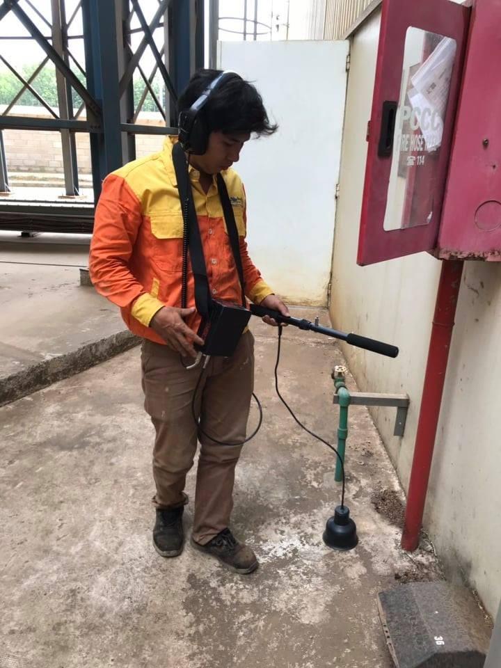 Dò tìm rò rỉ chống thất thoát nước tại Biên Hòa