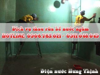 Thợ vệ sinh bồn nước, bể nước ngầm giá rẻ tại TPHCM